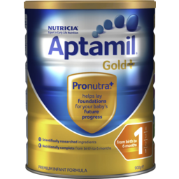 Photo of Aptamil® Gold+ 1 Infant Formula From Birth To 6 Months 900g