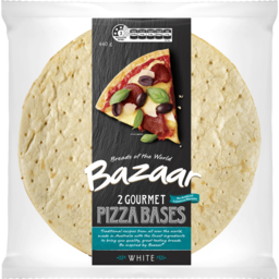 Photo of Bazaar Gourmet Pizza Bases 2pk