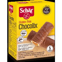 Photo of Dr Schar Gluten Free Chocolix 110gm