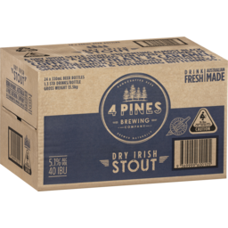 Photo of 4 Pines Stout Stubbies