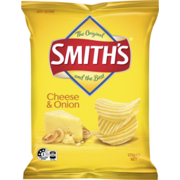 Photo of Smiths Crinkle Cheese & Onion 170gm