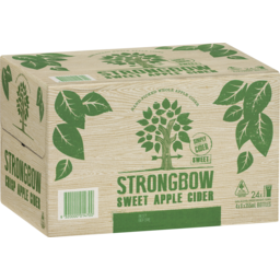 Photo of Strongbow Sweet Apple Cider Bottles