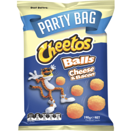 Photo of Cheetos Balls Cheese & Bacon 190gm