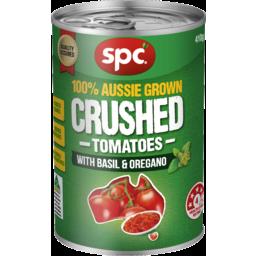 Photo of Spc Crushed Tomatoes With Basil & Oregano 410gm