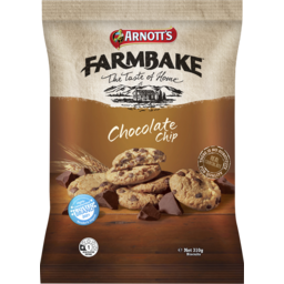 Photo of Arnott's Farmbake Cookies Chocolate Chip 310g