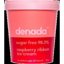 Photo of Denada Raspberry Ribbon Ice Cream