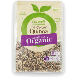 Photo of Macro Organic Tri Colour Quinoa 500g
