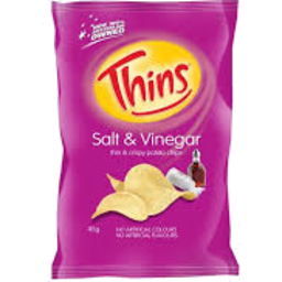 Photo of Thins Chip Salt & Vinegar 45g
