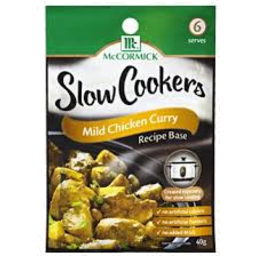 Photo of Mccormick Slow Cook Mild Chicken Curry 40gm