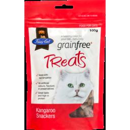 Photo of Fussy Cat, Grain Free Treats, Kangaroo Snackers 100g