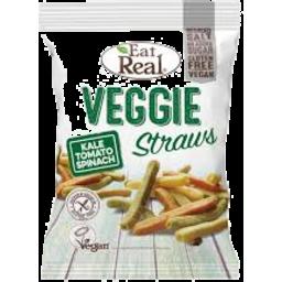 Photo of Eatreal Veggie Kale Straws 113g