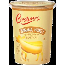 Photo of Brownes Yoghurt Natural Banana & Honey 1kg