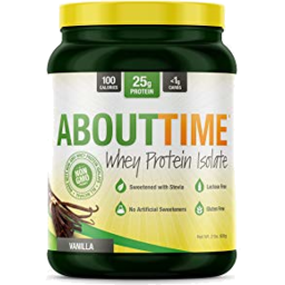 Photo of About Time Plant Based Protein Vanilla