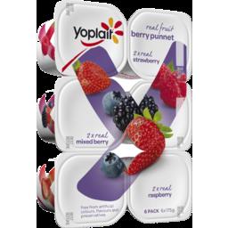 Photo of Yoplait Berry Punnet 6x175gm