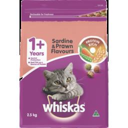 Photo of Whiskas With Vita Bites Sardine Prawn Tuna & Whitebait 2.5kg