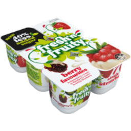 Photo of Fresh'n Fruity 40% Less Sugar Yoghurt Berry Favourites 6 Pack