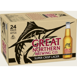 Photo of Great Northern Super Crisp Bottle 330ml 24 Pack