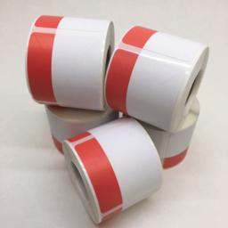 Photo of Printer, Markdown Labels, Red/White, for B-EP2DL/QLn220/ZQ610 (Carton 50xRolls)