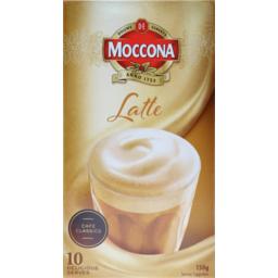 Photo of Moccona Latte Mixes 10pk