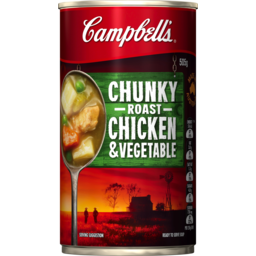 Photo of Campbells Chunky Roast Chicken & Vegetable Soup 505g