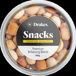 Photo of Drakes Snacks Premium Billabong Blend Tub 200g