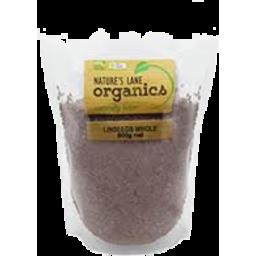 Photo of Nature's Lane Organics Linseeds Whole 500g