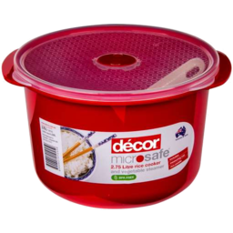Photo of Decor Microsafe Rice Cooker 2.75