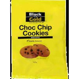 Photo of Black & Gold Cookie Choc Chip 500g