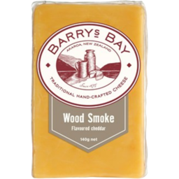 Photo of Barrys Bay Cheese Wood Smoke 140g
