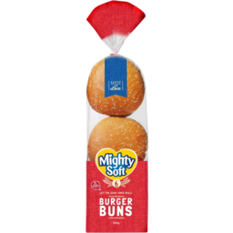 Photo of Mighty Soft Burger Buns 6pk