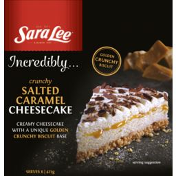 Photo of Sara Lee Salted Caramel Crunchy Cheesecake 425g 425g