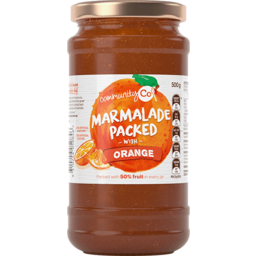 Photo of Community Co Marmalade Packed with Orange 500g