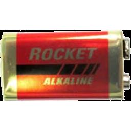 Photo of Rocket Battery Alkaline 9v 1pk