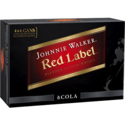 Photo of Johnnie Walker Red & Cola Can