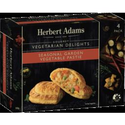 Photo of Herbert Adams Mixed Vegetable Pasties 700g 4pk
