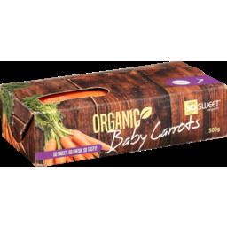 Photo of Carrots Baby Organic 500g