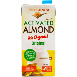 Photo of Pureharvest Almond Milk - Activated