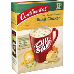 Photo of Continental Cup A Soup Roast Chicken 2 Pack 75g