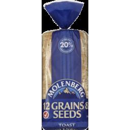 Photo of Molenberg 12 Grains & Seeds Toast 700g