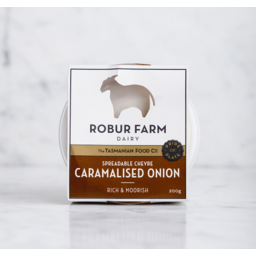 Photo of R/Farm Carml Onion Chevre 100gm