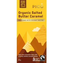 Photo of Pico Vegan Salted Caramel 80g