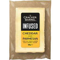 Photo of Cracker Barrel Cheese Cheddar & Parmesan 120gm