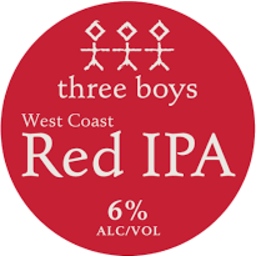 Photo of Three Boys West Coast Red IPA 330ml
