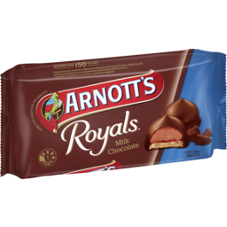 Photo of Arnott's Royals Biscuits Milk Chocolate 200g