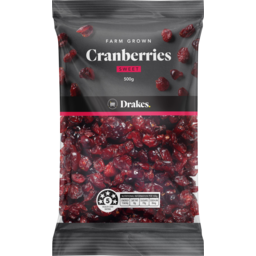 Photo of Drakes Cranberries Sweet 500g