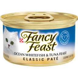 Photo of Fancy Feast Cat Food Whitefish & Tuna 85g