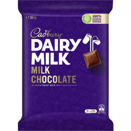 Photo of Cadbury Dairy Milk Milk Chocolate 360g