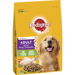Photo of Pedigree Dry Dog Food Real Chicken 8kg Bag
