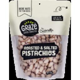 Photo of  Graze Roast Salt Pistachios 425