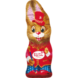 Photo of Red Tulip Milk Chocolate Carnival Rabbit 180g